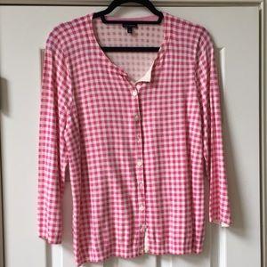 Talbots 3/4 sleeve cardigan Size L